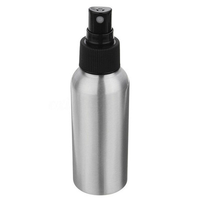 80ml Aluminum Bottle with Black Sprayer