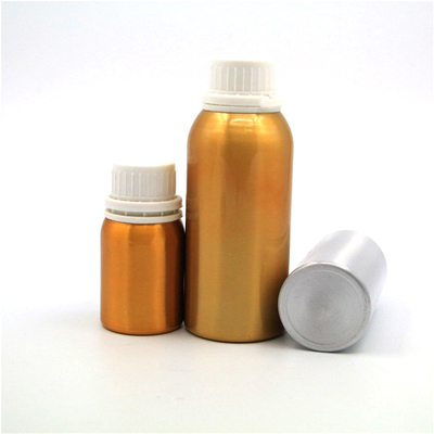 Aluminum Essential Oil Bottle with Pilfer Proof Lid