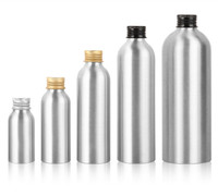 Aluminum Bottle with Inner Plug