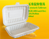 Cornstarch Tableware-Box 600ml
