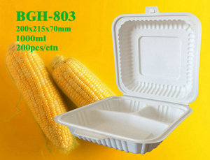 Cornstarch Tableware-3C Box 1000ml