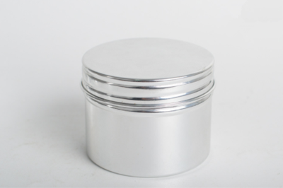 Customized Aluminum Canister with Screw Lid
