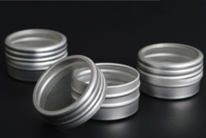 10ml Aluminum Jar with Open Window