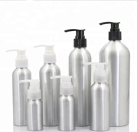 Aluminum Bottle with Mist Sprayer & Lotion Pump