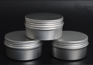 80ml Aluminum Screw Jar for Cosmetics