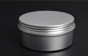 100ml Aluminum Box with Screw Lid